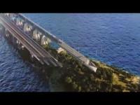 Промо ролик строительства Крымского моста.