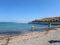 Пляж «Солнечный» открыт для отдыхающих