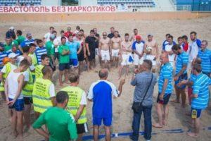 В Парке Победы состоялся турнир по пляжному футболу, а на Ракушке — концерт