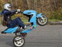 В Севастополе «гоняли» водителей скутеров