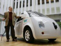 Waymo запатентовала автомобиль с кнопками «Go» и «Stop now» вместо педалей