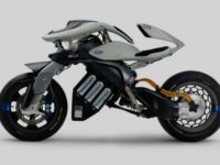 Motoroid — концепт байка с ИИ от Yamaha
